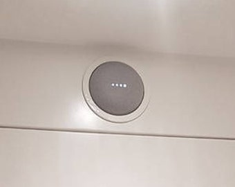 Google Home Mini Recessed Wall/Ceiling Mount, Multiple Colors.