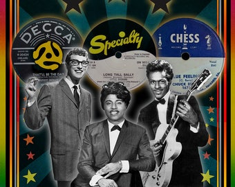 The Three Kings - Buddy Holly, Little Richard, and Chuck Berry