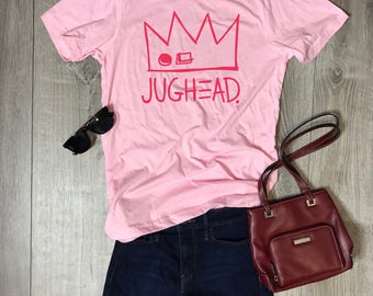 Jughead Jones Women/Unisex T-Shirt, Jughead, Veronica, Archie, Betty, Riverdale, Cute, Comfortable, Crown, Relaxed, Girly, Graphic Tee