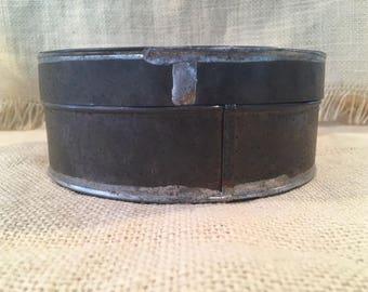 Round Tin Pantry Box