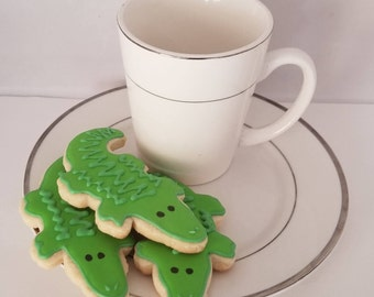 Alligator Sugar Cookies