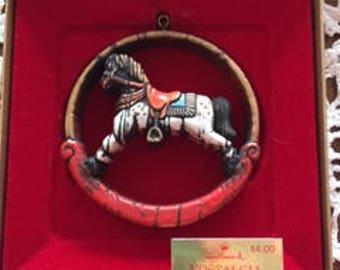Hallmark Nostalgia Rocking Horse Ornament