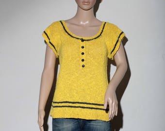Yellow 60s sweater