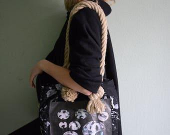 Designer Tote Bag from Organic Materials