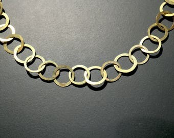 Necklace of 750ER Yellow gold