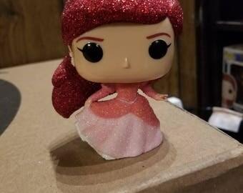 Custom Glitter Ariel funko pop