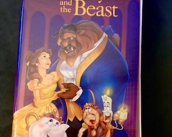 Beauty and the Beast (VHS, 1992) Black Diamond Edition