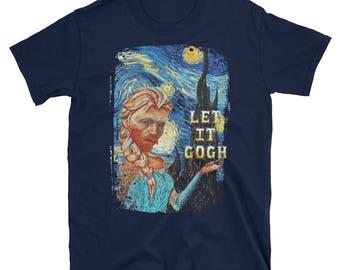 Van Gogh Shirt, Vincent Van Gogh, Van Gogh T Shirt, Van Gogh T-Shirt, Art Teacher Shirt, Van Gogh Tshirt, Van Gogh Clothing, Van Gogh Quote