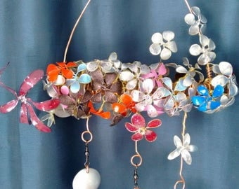 Handmade wind chime for outdoor and indoor