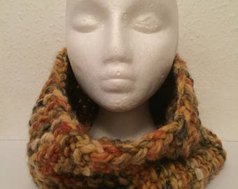 Hand knitted snood