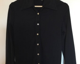 Vintage Polyester Sears Blouse