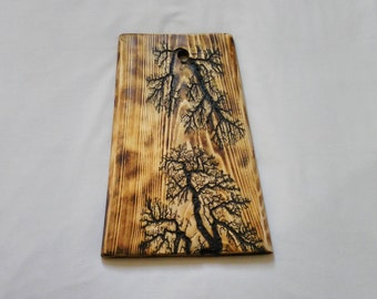 Unusual cutting board,wooden chopping board handmade