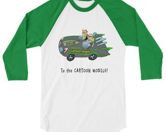 To The Cartoon Mobile Baseball Jersey