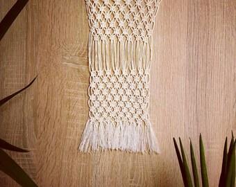 "Macrium Tapestry ""Network"" | Wallhanging | Macrame | Homedecor | Interior | Manual Work | Handicraft"