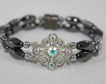 Princess Rhinestones High Quality Magnetic Bracelet