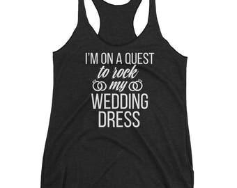 Wedding Workout Tank , Bride workout tank , Bride to be workout tank , Bride to be gift , Wedding workout clothes