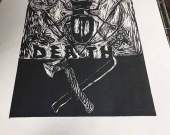Death By Beetle Print
