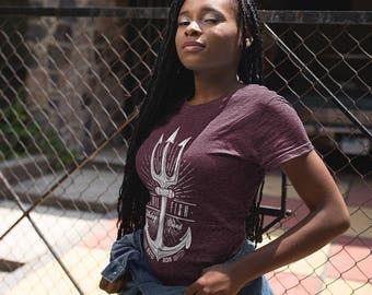 Bordeaux anchor T-shirt