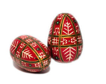 Easter gift ideas etsy easter wooden egg easter pysanky easter decoration handmade hand painted easter wooden negle Choice Image