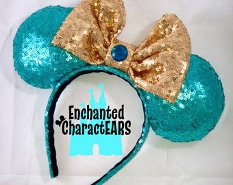 Jasmine Ears Aladdin Ears Custom Minnie Ears