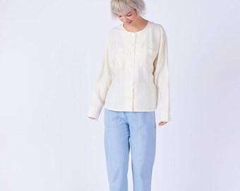 Womens Silk Shirt