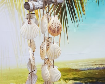Beach decoration gift Wind gong shells Terrace mobile wind chimes wedding Gift