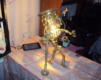 "metal lamp ""crezy frogg"""