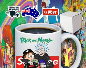 Supreme Rick And Morty 11oz Coffee Mug