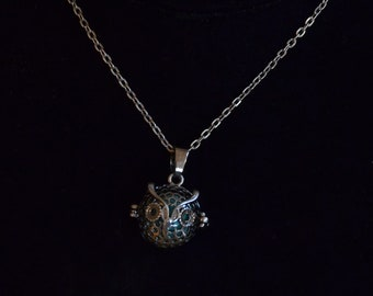 Owl Bead Locket