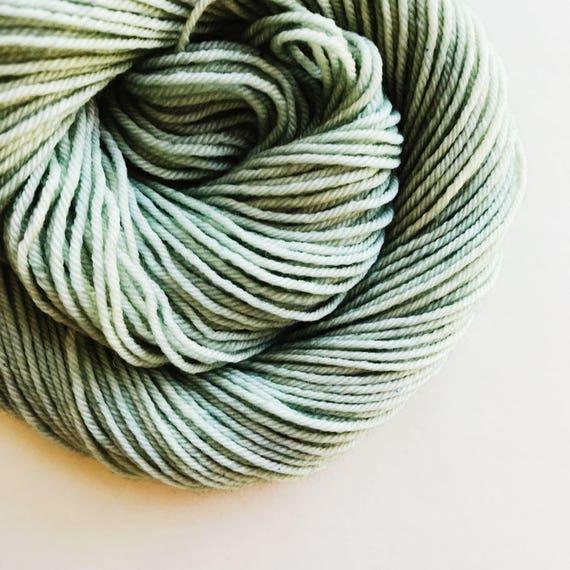 VERDIGRIS hand dyed yarn