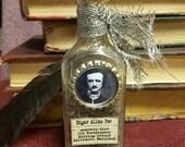 Friedhof Schmutz - Poe-Kunst-Flasche