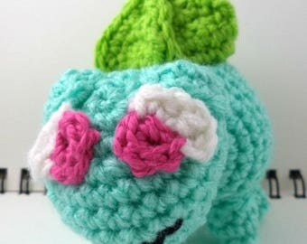Crocheted Plush Plant Dinosaur Monster
