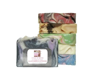 Discounted Handmade Soap Variety Pack - Choose Six Scents