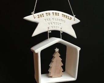 2017 Commemorative House Christmas Ornament by Paloma's Nest