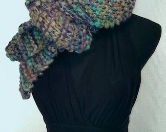 Bayberry Hand Knit Warm Scarf