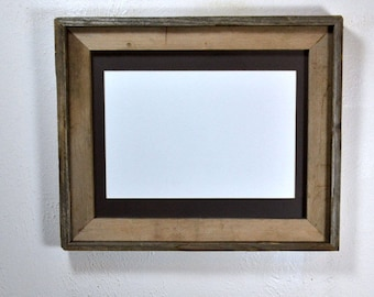 11x14 wood picture frame Made in the USA with mat for 8x10,8x12 or 9x12