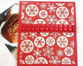 Holiday Gift Card Holder - Holiday Money Holder Cards, Holiday Tip Envelopes, Holiday Bonus Cards, Christmas Money Card