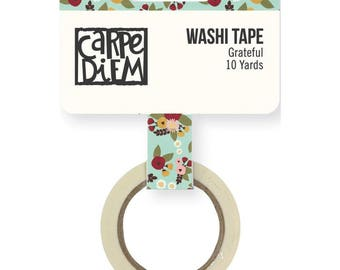 Grateful Vintage Blessings Washi Tape Simple Stories Flower Washi Tape (9940)