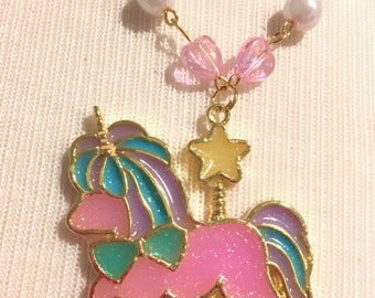 Magical Unicorn Carousel Necklace