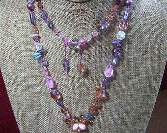 Druzy Quartz Pendant and Necklace