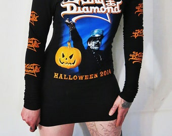 King Diamond Off Shoulder Mini Dress