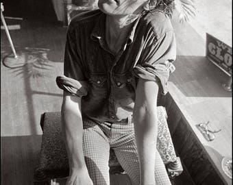 Jazz Pianist Barry Barnham, DOUBLE STRUCK, Clyde Keller photo, 1975