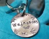 Fledermaus und Spinne Stege Pet-Tag, Spinne Web Hundemarke, Hundemarke, personalisierte Hundemarke, benutzerdefinierte Hundemarke, handgemachte pet-Tag, Kupfer Hundemarke