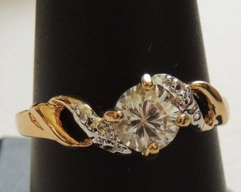 Cubic Zirconia Ring size 10