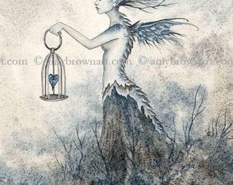 5x7 Keepsake fairy PRINT by Amy Brown