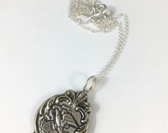 Illinois Charm, Illinois Jewelry, Vintage Illinois, Illinois Necklace, Illinois Gift, Illinois Woman Gift, Illinois Souvenir, Wife Gift