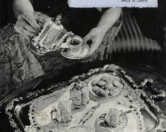 Doilies   Book No. 201   The Spool Cotton Company DIGITALLY RESTORED PDF