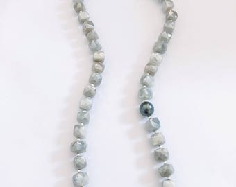 Long Moonstone Necklace