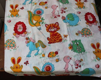 """Juvenile cotton Fabric 36"""" width 4 yards 35"""" length Novelty VINTAGE by Plantdreaming"""