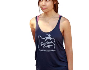 Made in Oregon Tank top | Relax Fit soft and lightweight | Hometown pride | Portland Oregon wild and free